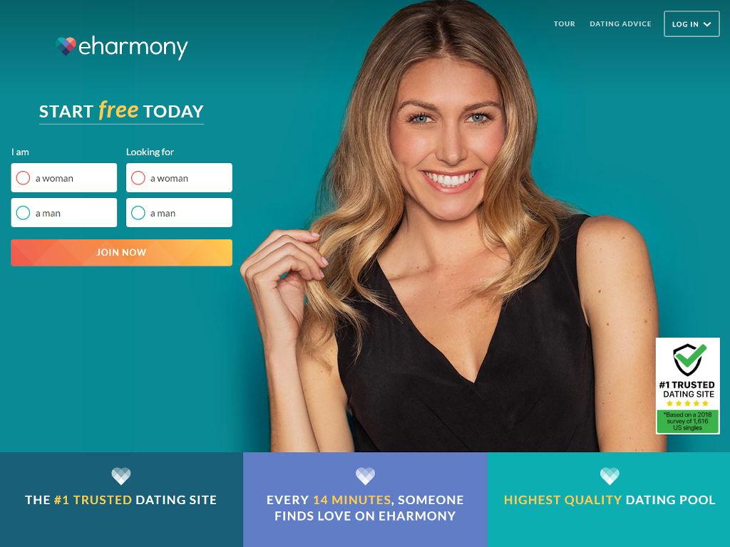 eHarmony site
